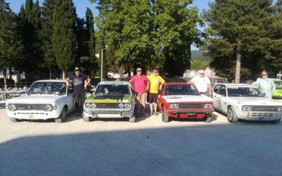 Le Fiat 128 protagoniste alla Salita dello Spino