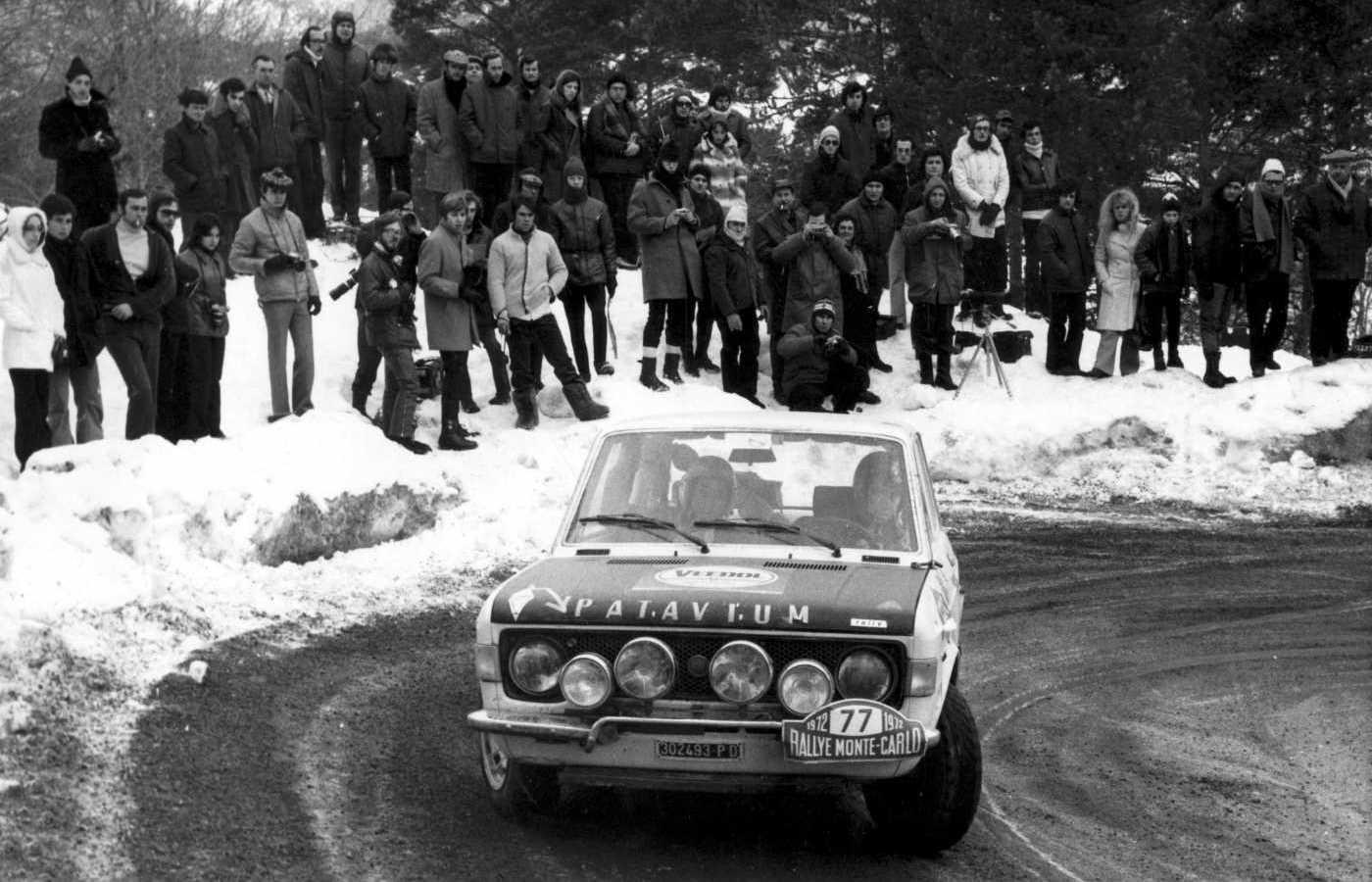 Bari-Franceschetti Rallye Montecarlo 21 29-1-1972