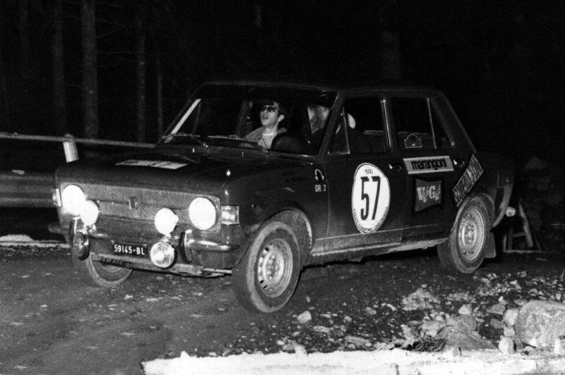 Berneri-Batacchi Rally San Martino di Castrozza 30-8-1969