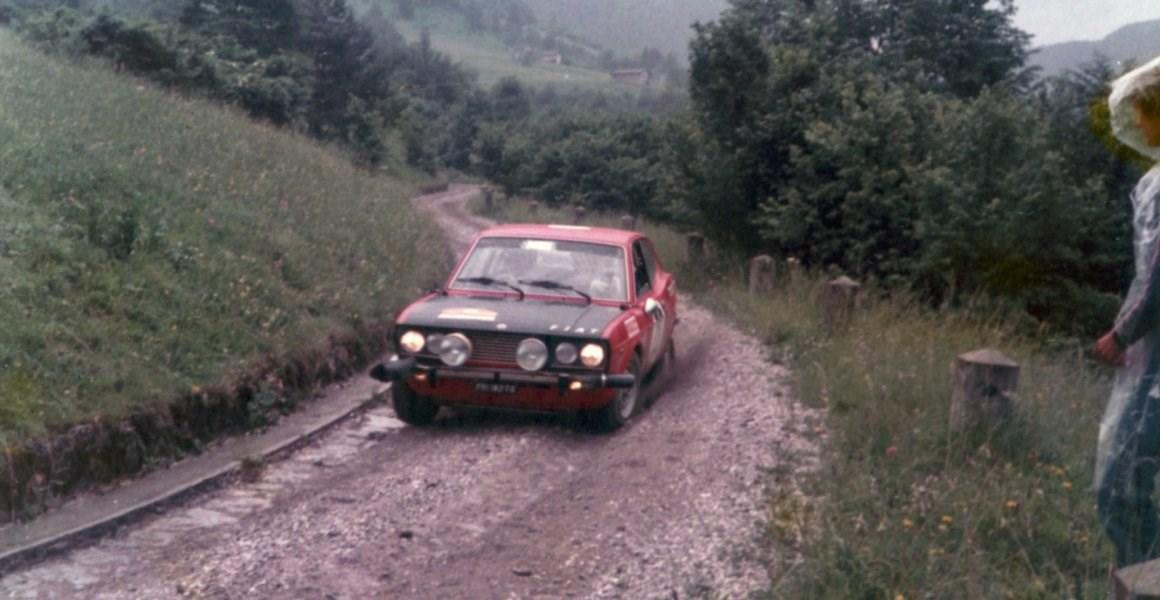 Ceccato Bertollo Rally Alpi Orientali 2-6-1972