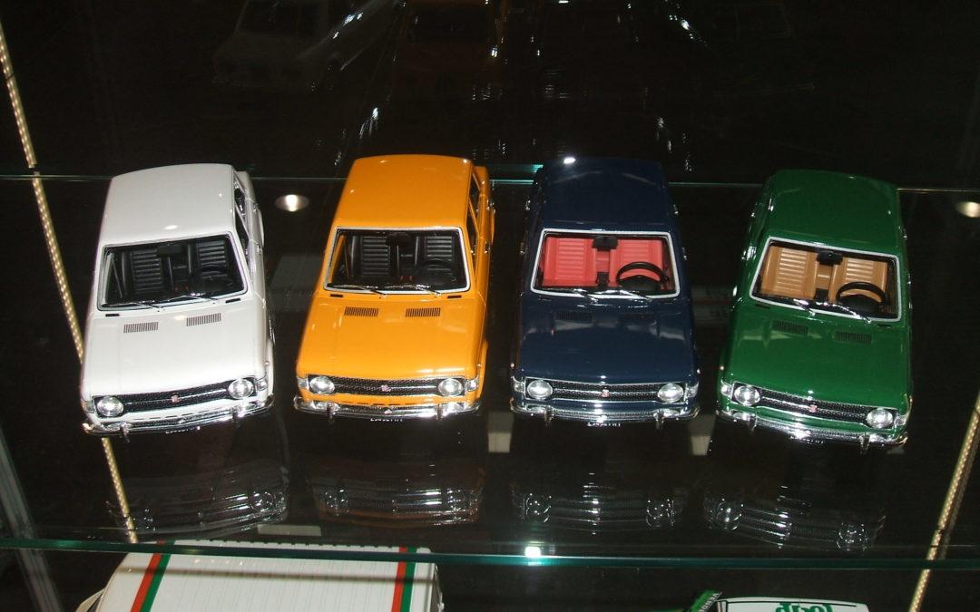 La Fiat 128 berlina in scala 1/18 di Laudoracing-Models