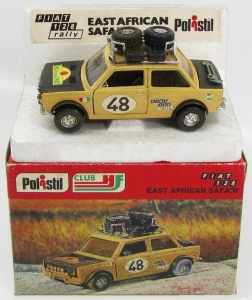 Fiat 128 Rally Safari Politoys 1-25