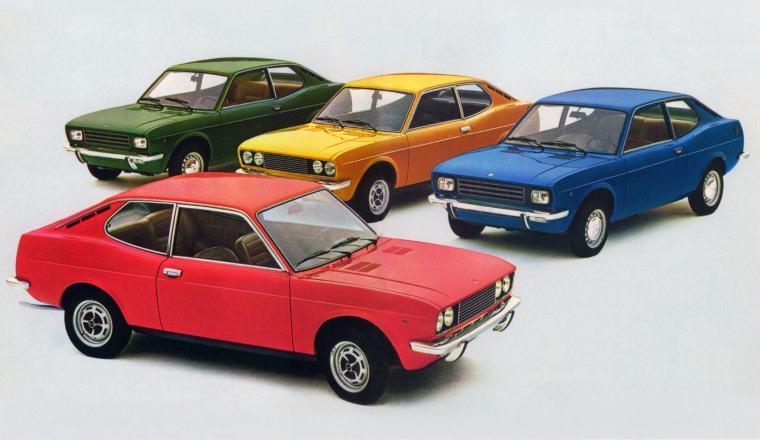 Fiat 128 S e SL, 1100 e 1300 (1971)
