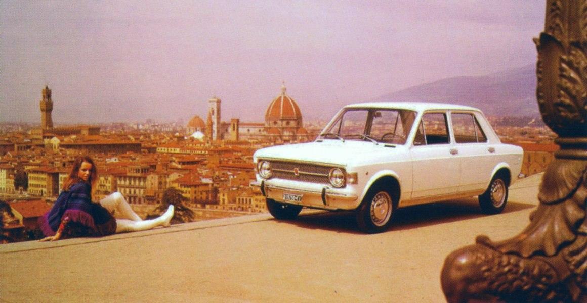 Fiat 128 a Firenze