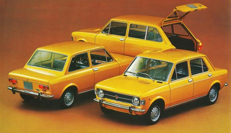 Fiat 128 berlina 4 porte, 2 porte e familiare (1969)