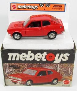 Fiat 128 coupé Mebetoys 1-25