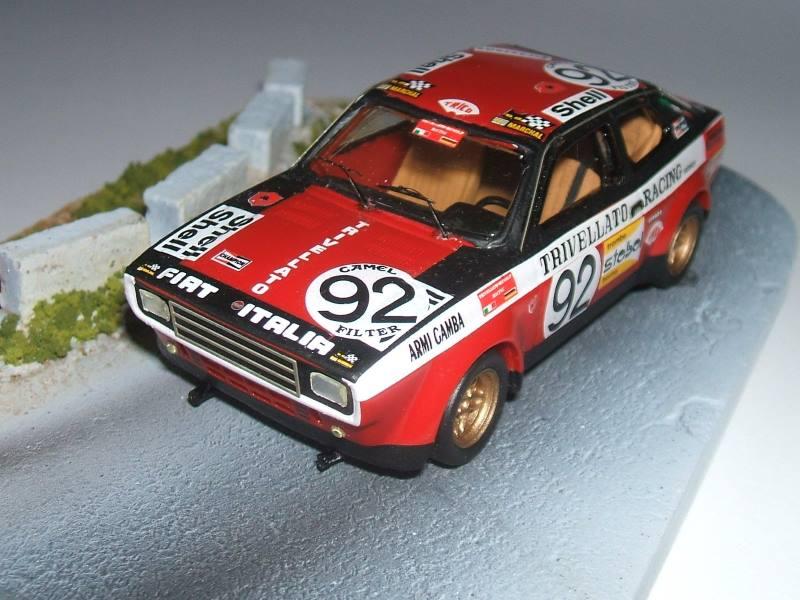 Fiat 128 coupé gruppo 2 Tron Models