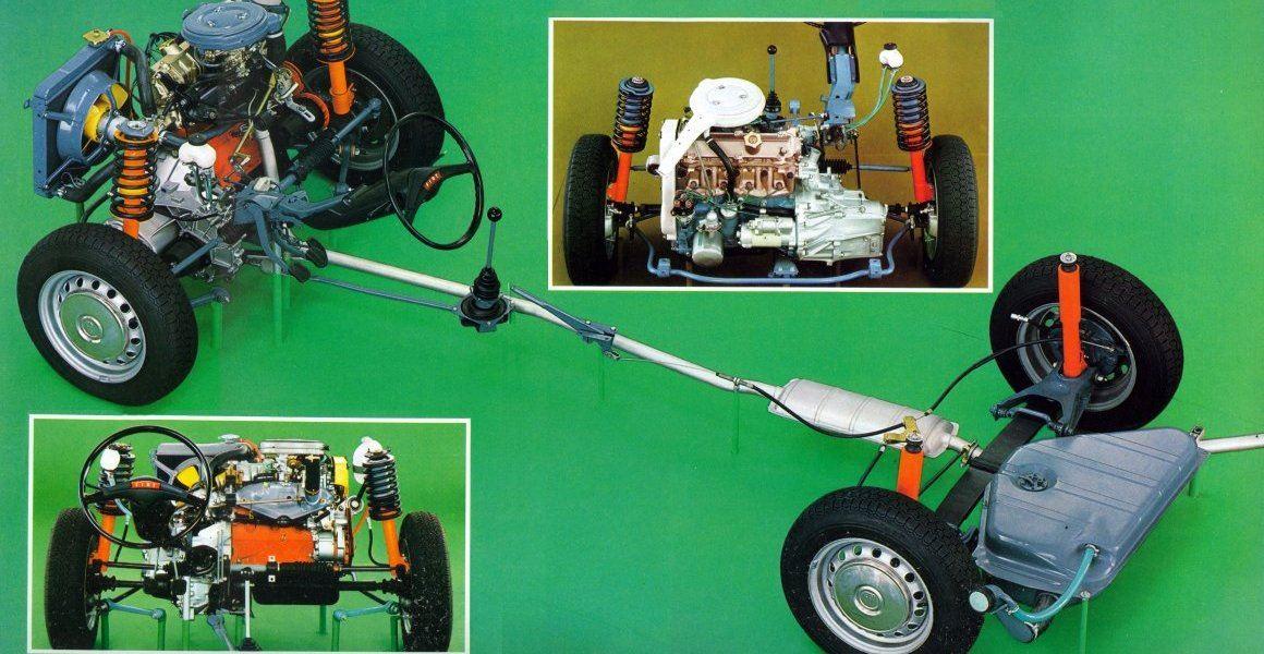 Fiat 128 organi meccanici