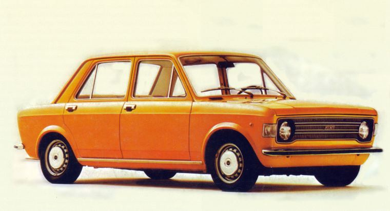 Fiat 128 restyling (1972)