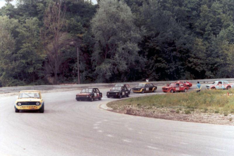 Giuliano Battistini guida il gruppo Trofeo AC Verona Varano 21-05-1978
