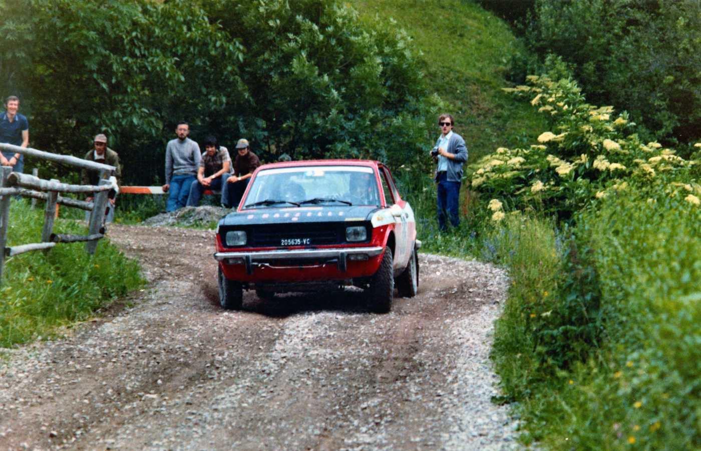 Ormezzano-Enrico Rally Alpi Orientali 2-6-1972 (Antonio Biasioli)