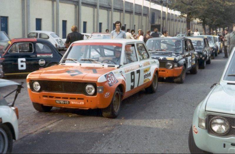 Paolo Cozzarolo Roberto Bordonaro e Luigi Crassevig Trofei AACC Lombardi Monza 10-10-1971 (Roberto Panarotto)