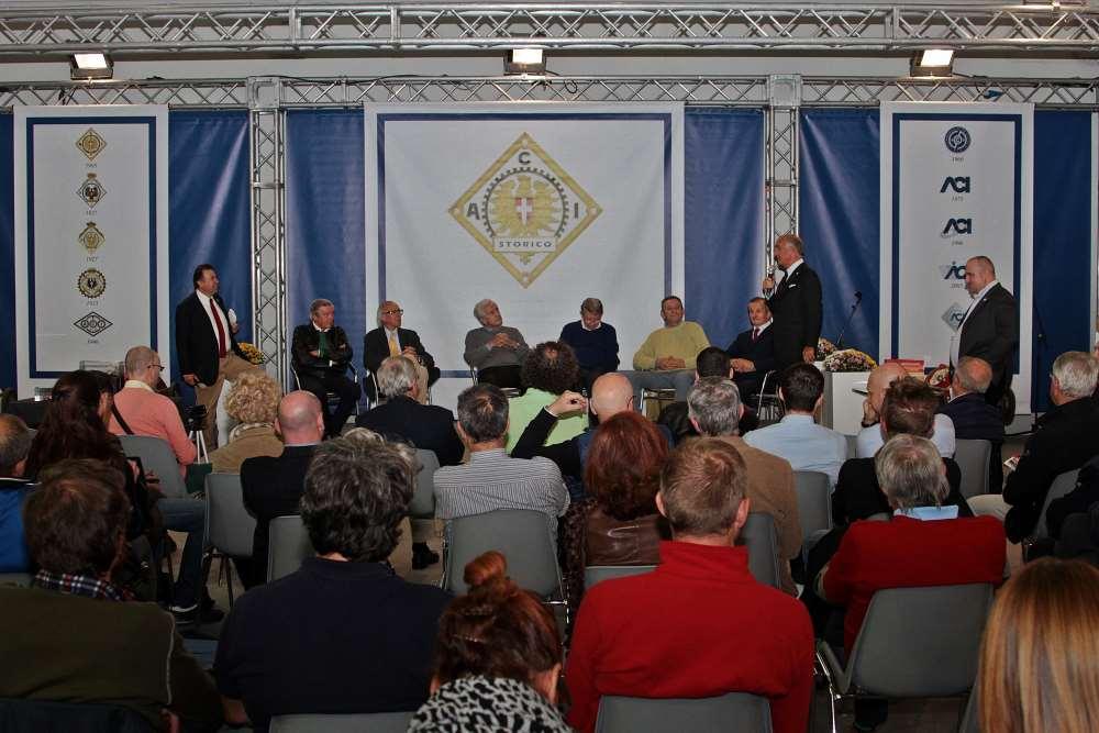 Presentazione fiera Auto e Moto d'Epoca Padova 2014 il pubblico