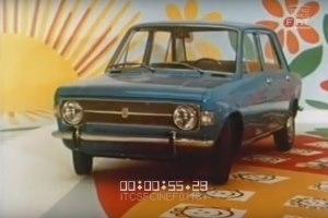 Pubblicità Fiat 128 4 porte
