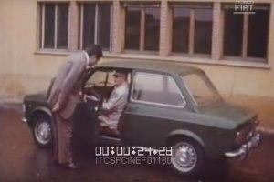 Pubblicità Fiat 128 Enzo Ferrari