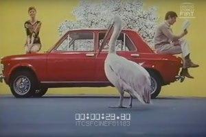 Pubblicità Fiat 128 pellicano