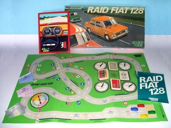 Gioco Raid Fiat 128 EG