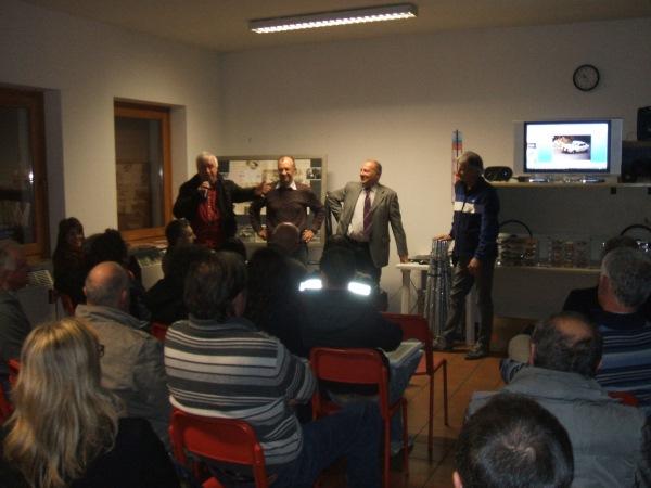 Serata Culturale Fiat 128 al Circolo Gidoni Belluno 2014