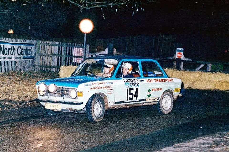 Shipp-Waldron Lombard RAC Rally 27.30-11-1976