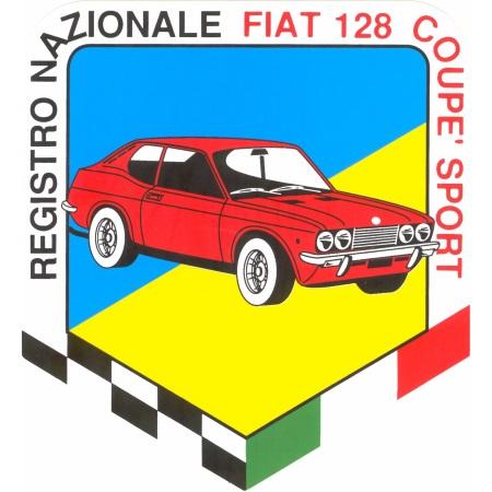 Stemma Registro Nazionale Fiat 128 Coupé Sport