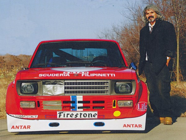 Wianni Maurizio Tagliazucchi e la sua 128 Sport Filipinetti